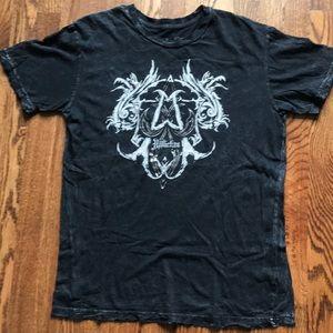 Affliction logo tee-never worn